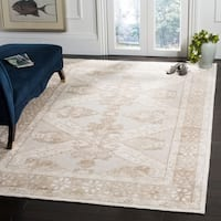 Safavieh Paseo Hand-Knotted Beige Bamboo Silk Rug - 8' x 10'