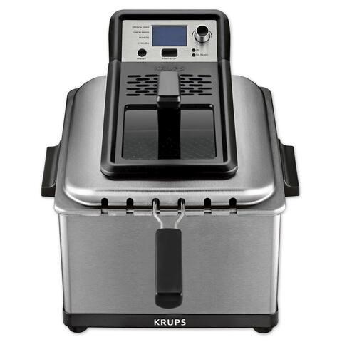 Krups KJ502D51 4.5-Liter Professional Deep Fryer with Preset Options