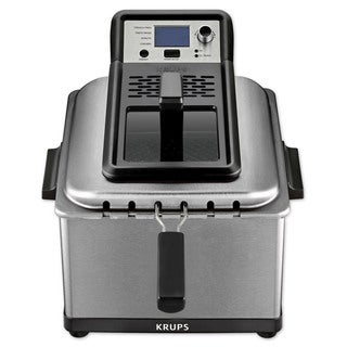 Krups KJ502D51 4.5-Liter Professional Deep Fryer with Preset Options