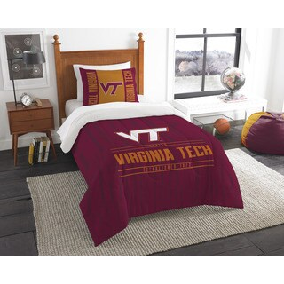The Northwest Company COL 862 Virginia Tech Modern Take Twin 2-piece Comforter Set