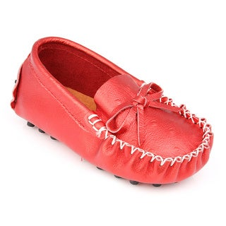 Augusta Baby Children's Genuine Leather Loafers (2 options available)