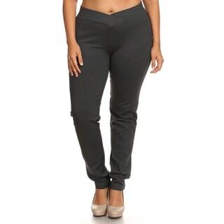 Women's Plus Size Slim Fit Pants (2 options available)