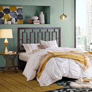 Madison Park Arthon Espresso Headboard
