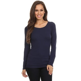 Women's Solid Basic Top