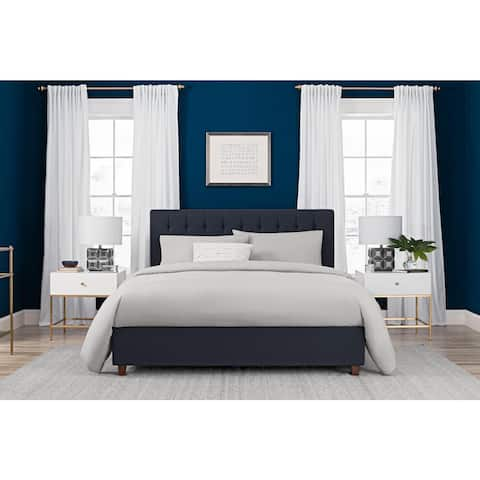 Avenue Greene Linen Ella Upholstered Bed