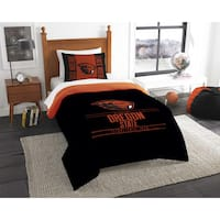 The Northwest Company COL 862 Oregon State Modern Take Twin 2-piece Comforter Set