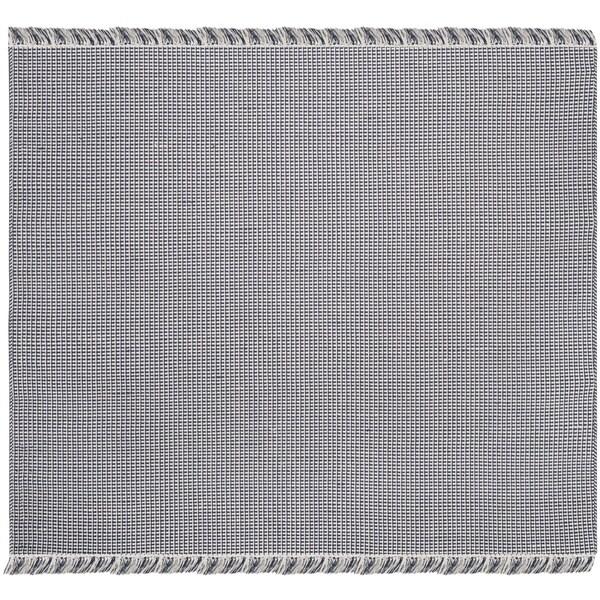 Safavieh Hand-Woven Montauk Flatweave Ivory/ Navy Cotton Rug - 6' Square
