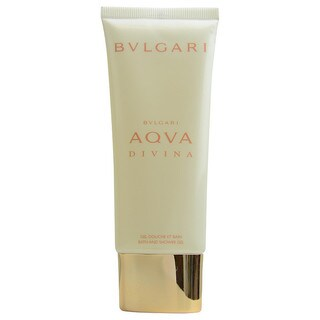 Bvlgari Aqva Divina Women's 3.4-ounce Bath and Shower Gel