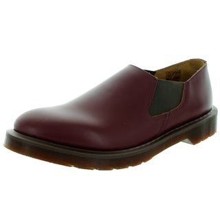 Dr. Martens Unisex Louis Oxblood Red Leather Casual Shoes