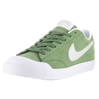 Nike Men's Zoom All Court Ck Treeline, Light Bone, White Suede Skate Shoe