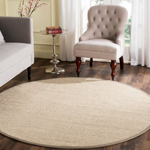 Buy Sisal 8 Round Oval Square Area Rugs Online At Overstock Com