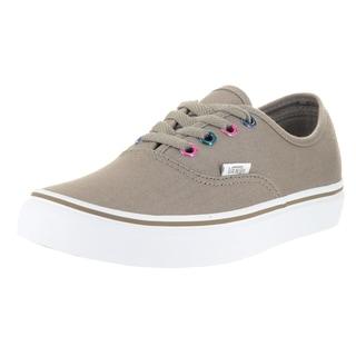 Vans Authentic Brown Canvas Skate Shoe