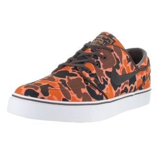 Nike Men's Zoom Stefan Janoski Cnvs Prm Hazelnut/Baroque Brown White Skate Shoe