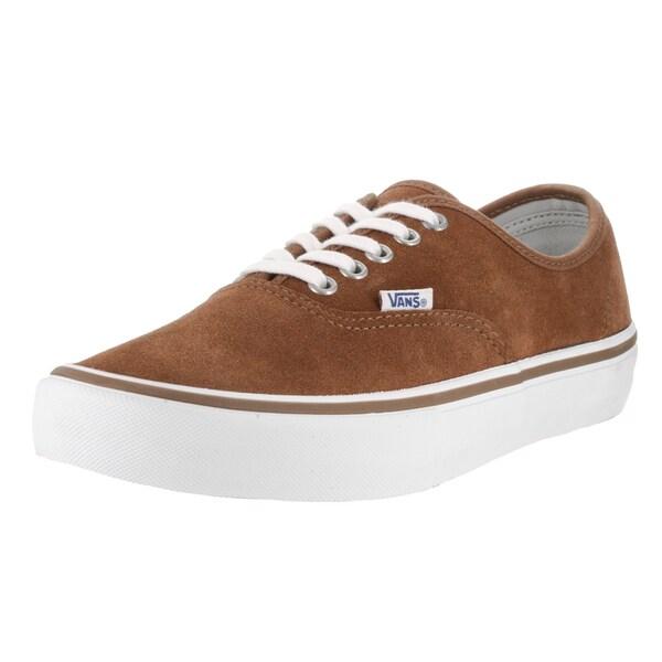 dcf8b04d36 Shop Vans Men s Authentic Pro Brown Suede Skate Shoe - Free Shipping ...