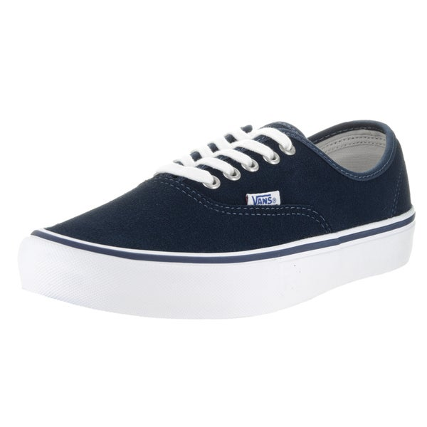 5626125599db30 Shop Vans Men s Authentic Pro Dress Blue White Skate Shoe - Free ...