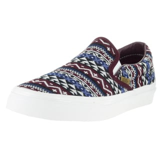 Vans Unisex Blanket-weave Multicolored Classic Slip-on Skate Shoes