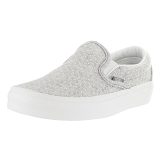 Vans Unisex Classic Slip-On Blanc de Blanc and Polka Dots Skate Shoe