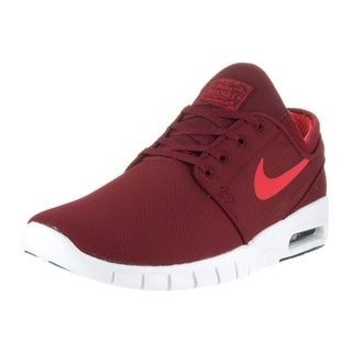 Nike Men's Stefan Janoski Max Team Red/Ember Glow Textile Skate Shoes
