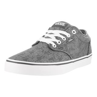 Vans Men's Atwood (Otw) Grey/White Canvas Skate Shoes