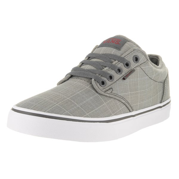 423bb4ae29dd Shop Vans Men s Atwood Grey Mono Textile Skate Shoes - Free Shipping ...