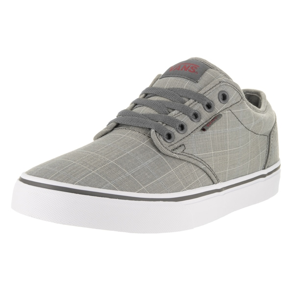 Shop Vans Men s Atwood Grey Mono Textile Skate Shoes - Free Shipping ... 27bd22026