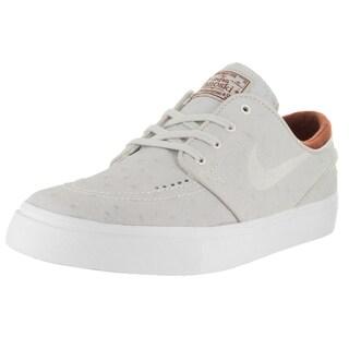 Nike Men's Zoom Stefan Janoski L Ivory/Light Bone Hazelnut Skate Shoes