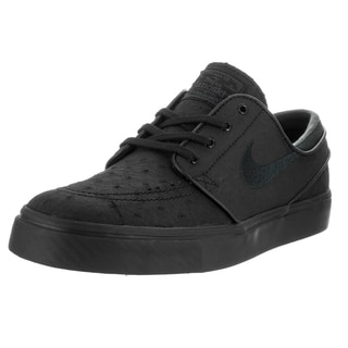 Nike Men's Zoom Stefan Janoski Black Leather Skate Shoe