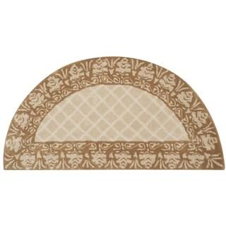 Safavieh Total Performance Handmade Trellis Ivory/ Cream Rug (2' x 4')