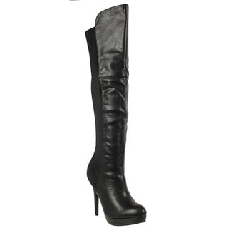 Delicious FE82 Women's Over-the-knee Platform Stiletto High Heel Boots
