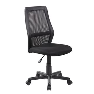 Modern Ergonomic Red Mesh Mid-back Executive Computer Desk Task Office Chair(8009-RD)