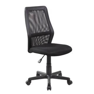 Modern Ergonomic Red Mesh Mid-back Executive Computer Desk Task Office Chair(8009-RD)