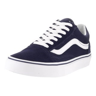 Vans Unisex Old Skool Eclipse Eclipse, True White Suede Skate Shoe