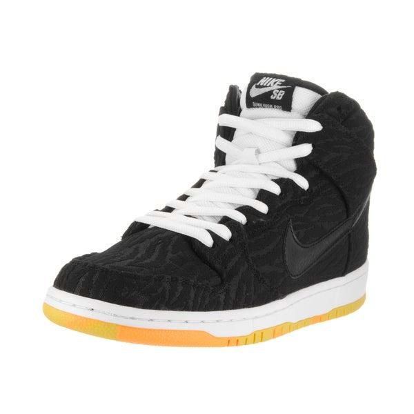 online store 1c807 6f2b7 ... promo code for nike menx27s dunk high pro sb black white and laser  orange 84d26 8bfaa