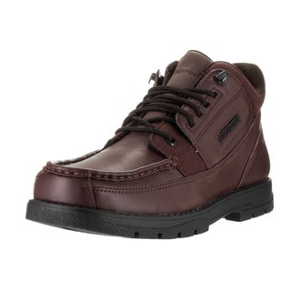 Rockport Men's Marangue Burgundy Leather Casual Hiking Boots