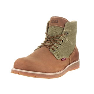 Levi's Men's Jax Hemp Khaki/Brit Tan Boot
