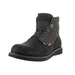 Levi's Men's Jax Hemp Black, Mono, Chrome Boot