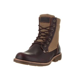 Levi's Men's Lex Burgandy and Khaki Boot