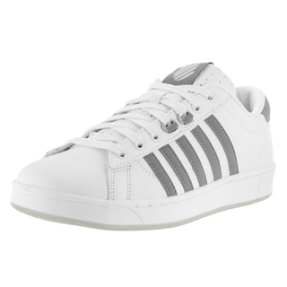 K-Swiss Men's Hoke CMF White Leather Casual Shoes