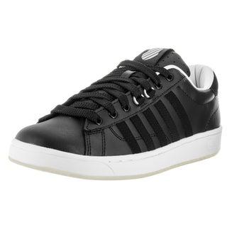 K-Swiss Men's Hoke White Leather Casual Shoe