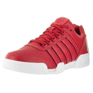K-Swiss Men's Gstaad Big Logo Red/White Leather Casual Shoes
