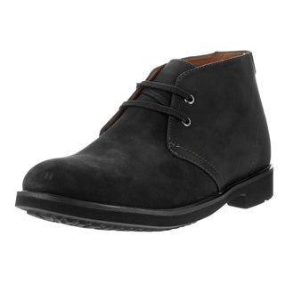 Clarks Men's Riston Style Black Leather Boot
