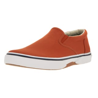 Sperry Top-Sider Men's Halyard Twin Gore Orange Casual Shoe