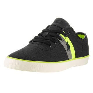 Polo Ralph Lauren Men's Black Textile Casual Shoe