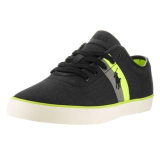 Polo Ralph Lauren Men's Black Textile Casual Shoe