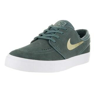 Nike Unisex SB Zoom Janoski Cpsl Green Suede Skate Shoes