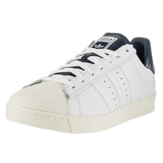 Adidas Men's Superstar Vulc Adv Ftwwht, Ftwwht, and Conavy Skate Shoe
