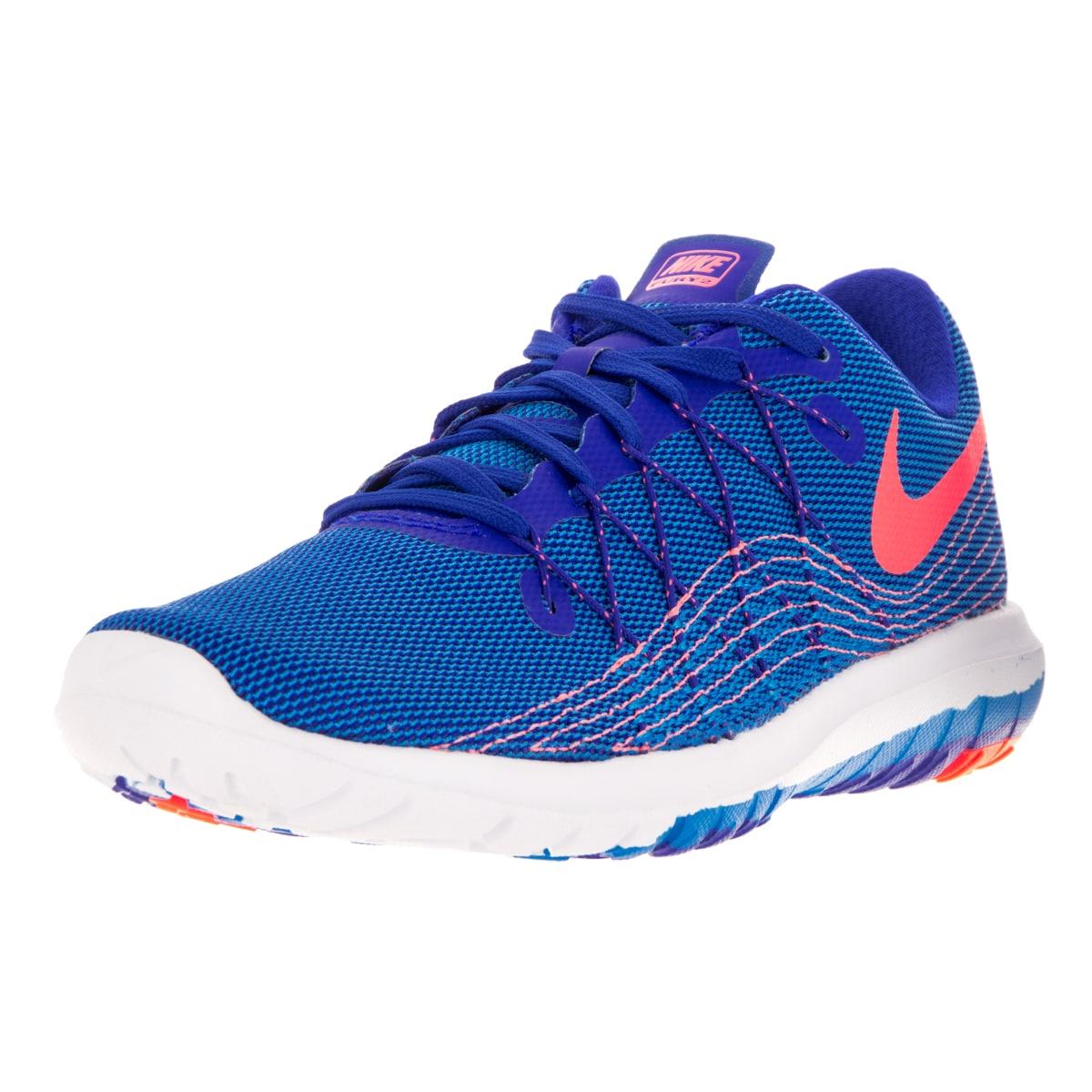 Nike Women's Flex Fury 2 Bright Blue Running Shoe (6.5) (...