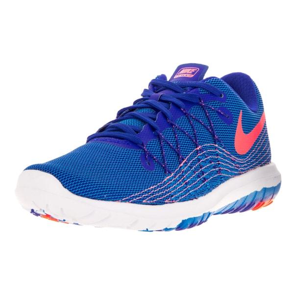 Shop Nike Women s Flex Fury 2 Bright Blue Running Shoe - Free ... 5dbe39767e