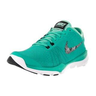 Nike Women's Flex Supreme Green Textile Training Shoe