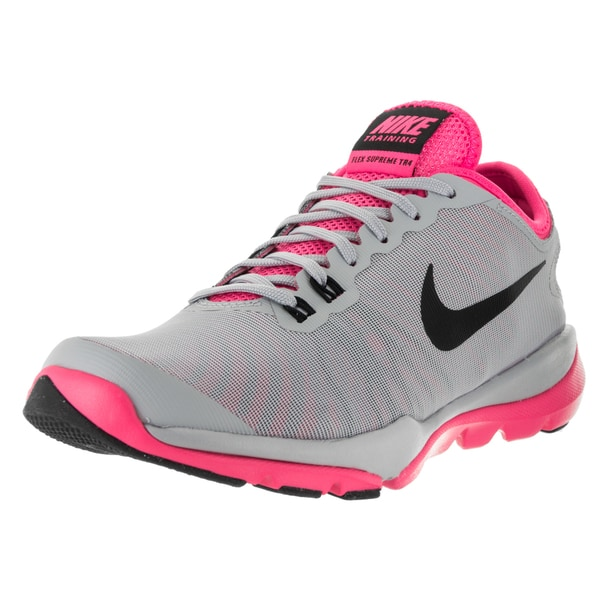 9df977ef446e3 canada nike womens training shoes nike free 5.0 tr fit 4. 65485 3ab36  50%  off nike womenx27s flex supreme tr 4 wolf grey black and 79ceb 86a41